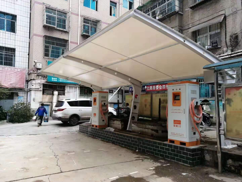 金华充电桩雨棚厂家